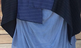 Variety of blue cloth by Dairing