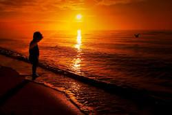 85 Kylie Heyman - Beach silhouette