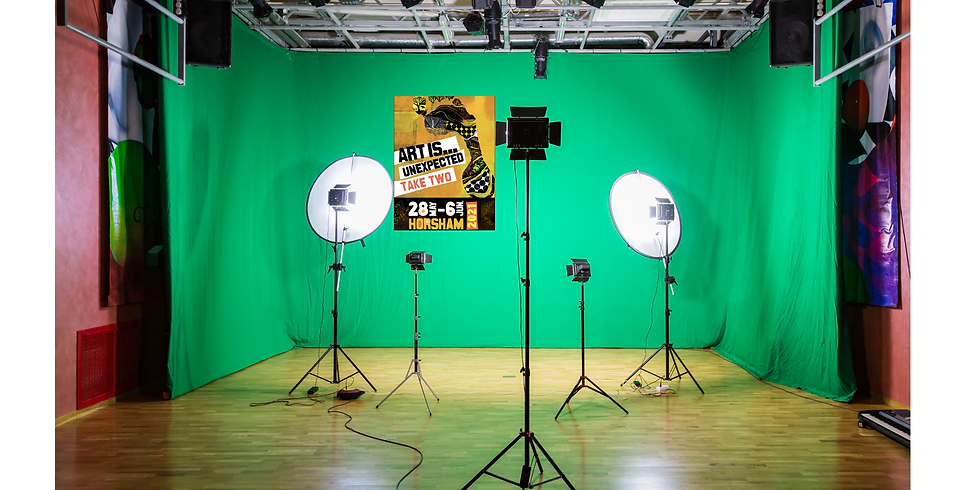 #Art is... AR  - The Mobile Green Screen Studio