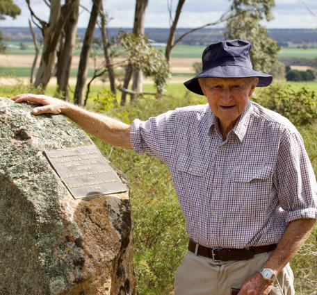 A lifetime of commitment to the people of the Wimmera, the environment and a deep love of Arapiles