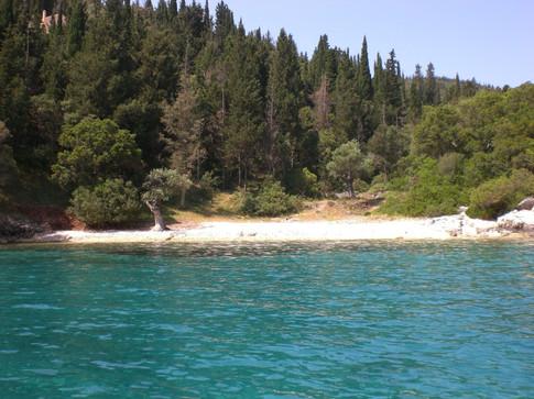 Pleasant little beach