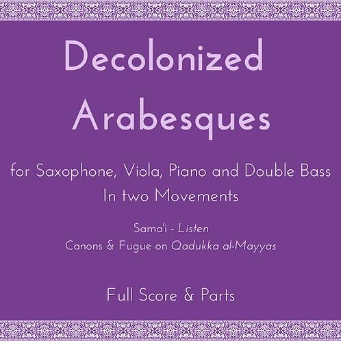 Decolonized Arabesques