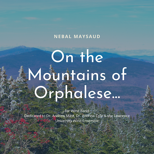 On the Mountains of Orphalese