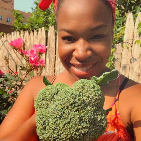 Meet Nichollete Shorts of @broadwaygardener: A NYC actress and backyard gardener who left the city for room to grow in rural New Jersey