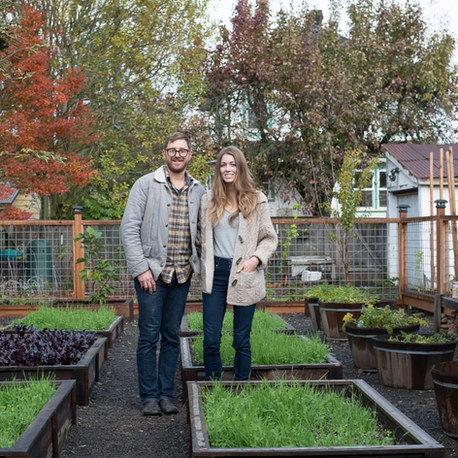 Hive of Industry: A writer and floral designer at their sustainable urban haven in Portland