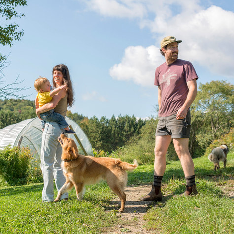 Stitchdown Farm: Couple leaves the PNW and expands their flower farm and agrarian-focused creative studio in the hills of Vermont