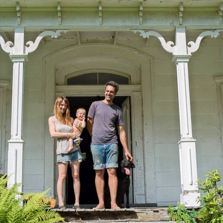 Los Angeles furniture makers move to east to artfully restore a crumbling historic home in rural New York