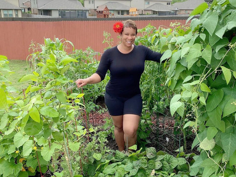 Growing Goodness: Meet the Okra Lady of @mybackyardtxgarden