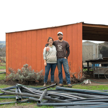Meet the Harvest Queen: Helena and Matthew Sylvester of Happy Acre Farm in Suncol, CA