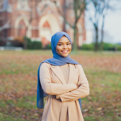 A young politician advocates for her community: Councilwoman Safiya Khalid in Lewiston, ME