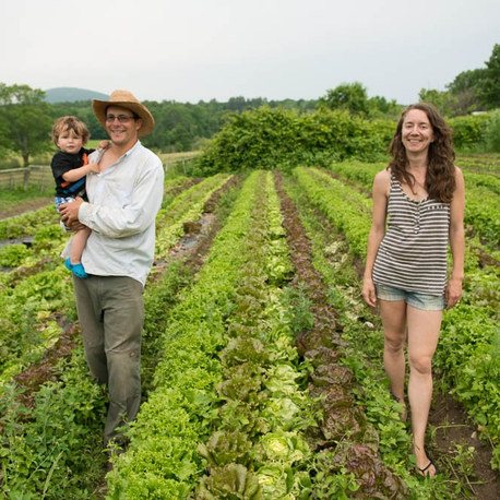 A California farmer and social justic lawyer relocate to Maine for family and affordable farmland