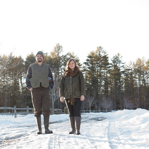 Meet Lane and Meryl of @prospectfarm: They left Portland and moved east to build a pasture-raised meat business in New England
