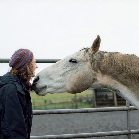 Meet Alissa Mayber, a horse trainer and somatics instructor building a life in rural Oregon for herself and her twin boys