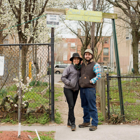Food security and community pride: A Baltimore couple help build community gardens on vacant lots in their neighborhood