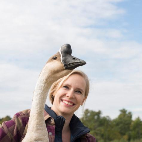 Tour writer and homesteader, Kirsten Lie-Nielsen of @hostilevalleyliving's 200-year-old farm in Maine