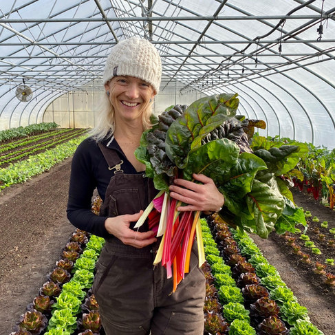 A legacy in activism and farming: Clara Coleman of Four Season Farm in Harborside, ME