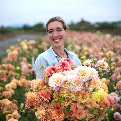 Floret Flowers: Erin Benzakin's journey of backyard sweet peas on 2 acres to building a thriving rural floral empire