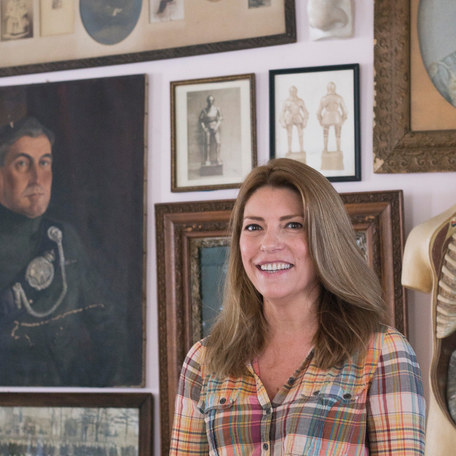 A tour of Saveur editor-in-chief's ecclectic home in the small community of Athens, NY