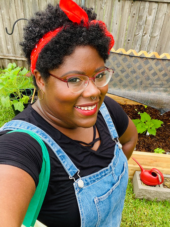 Growing Goodness in New Orleans: Meet Krystle of For the Horticulture and @iyanla_plantzant