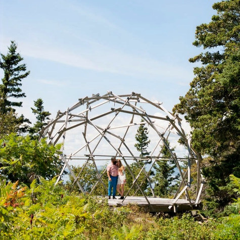 Textile artist and sculptor leave the city to caretake an off-grid island in Maine