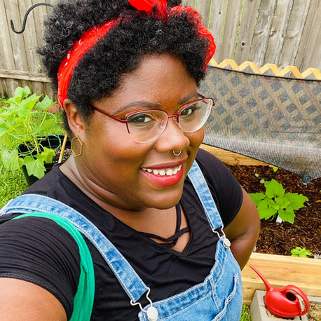 Meet Krystle Sims-Cameron of For the Horticulture: She left the tech world in SF and returned to New Orleans to build a non-profit that helps Black families start growing their own food
