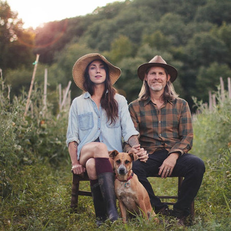 Two artists/musicians leave the NYC service industry to grow food and raise animals for their bosses farm-to-table empire