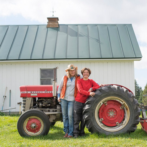 An LGBT artist couple leaves Bay Area community to build Stark Hollow Farm in rural Vermont