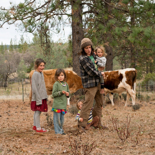 A single mother of four builds a regenerative farmstead in Northern California to give her children a better life