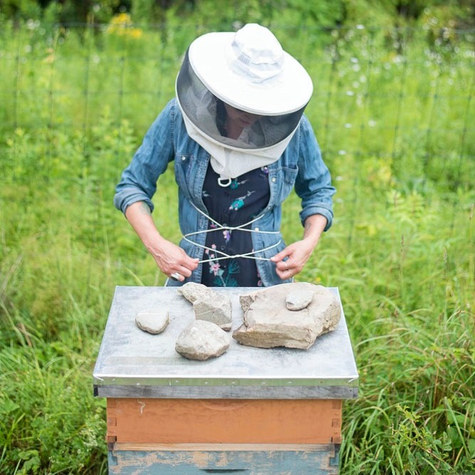 Beekeeper and musician leaves Brooklyn to build a farm-based business upstate