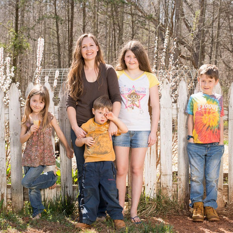 New Life on a Homestead: Kendra Lynne at her off-grid home in the rolling hills of North Carolina