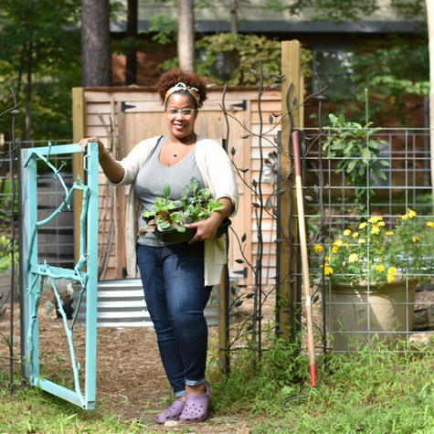 Yellow Swing Garden: Meet Erica Neal, a writer and grower builds a permaculture suburban haven outside of Durham, NC