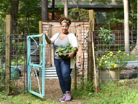 Erica Neal's Permaculture Suburban Haven outside of Durham, North Carolina