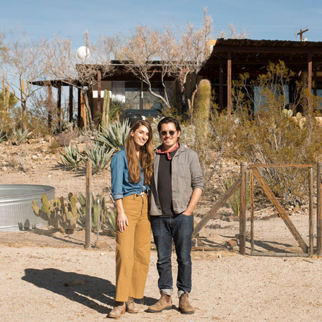 Meet Sara and Rich Combs, designers and founders of The Joshua Tree House and JTHTucson