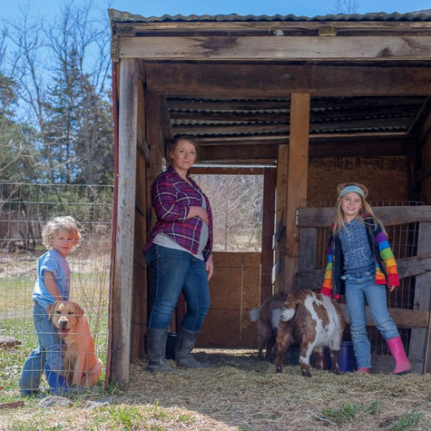 Ex-military wife, photographer and homeschool advocate moves to a cabin in West Virginia and builds her Wild Nettle Apothecary business