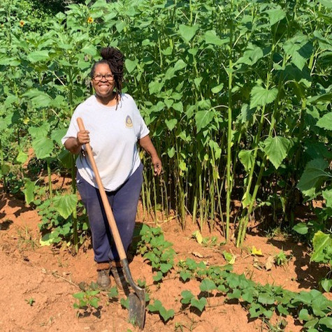 From Wall Street to farming in rural Georgia: Meet Meet artist and writer Margo Candelario of @youngfemalefarmers