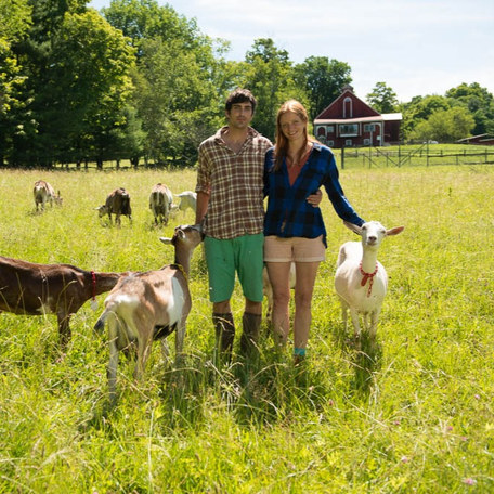 Big Picture Farm: An artist and a writer leave academia to build a goat milk confectionery business in the lush mountains of Vermont