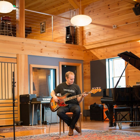 A Berklee College of Music graduate leaves Boston to build a destination recording studio in seaside town in Maine
