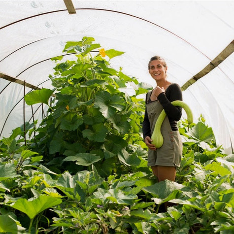 Grounded Local: Woman leaves NYC to farm and builds a edible landscaping business in Maine