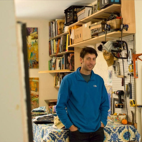 Painter leaves NYC to build a thriving art career and gallery in a small coastal Maine town
