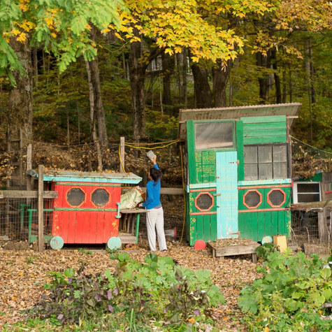 A NYC artist family leaves the city and moves into a storybook house in the rural outskirts of the Berkshires