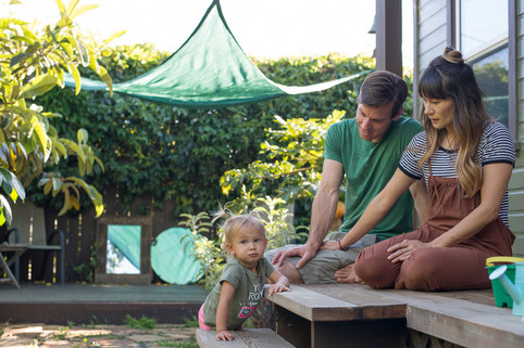 Family Builds Permaculture Homestead on SmallLot While Working Full-Time