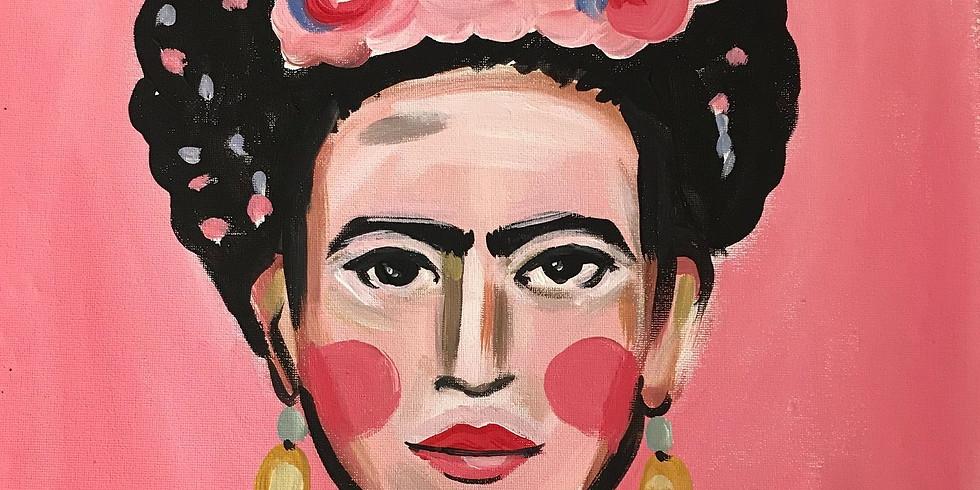PINSEL&PROSECCO - Frida Kahlo