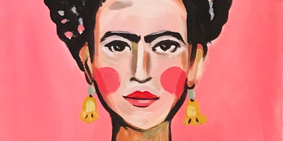 PINSEL&PROSECCO - Frida Kahlo & KUNST+Kaviar