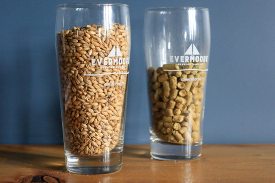 Grains and hops