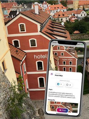 Český Krumlov hotel Mlýn