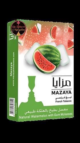 Chicle de sandía 50gr Mazaya
