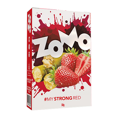 Strong Red 50gr Zomo