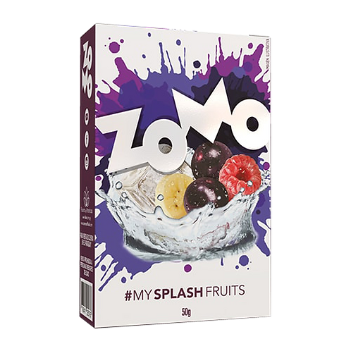 Splash fruits 50gr Zomo