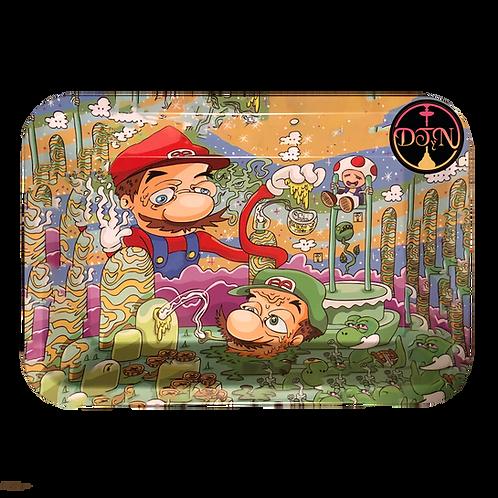 Bandeja de metal Mario y Luigi