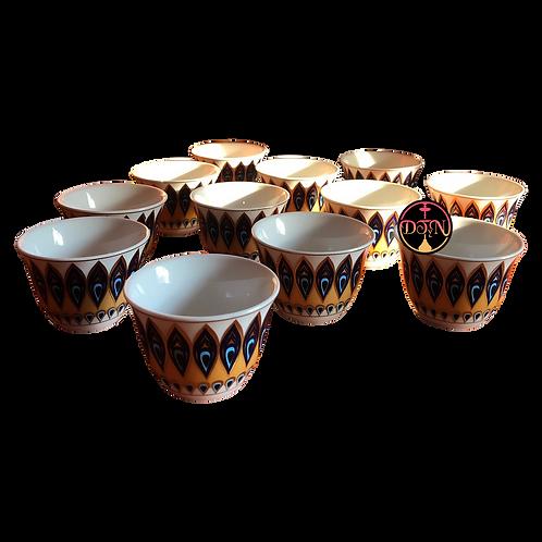 Pocillo cafe estilo marroquí juego 12 unid
